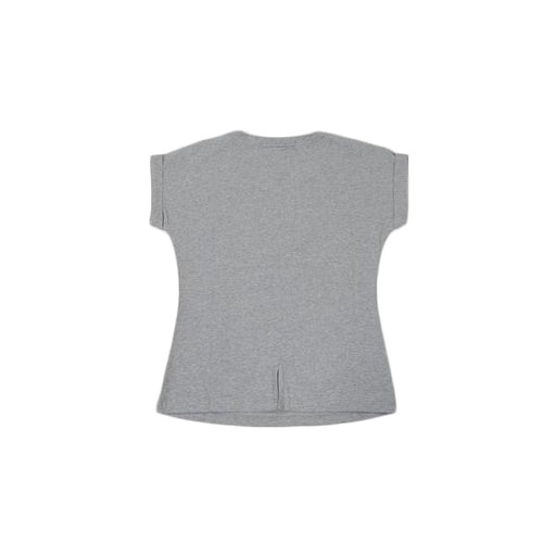 Women Fashion Tee-Light Grey - POPx