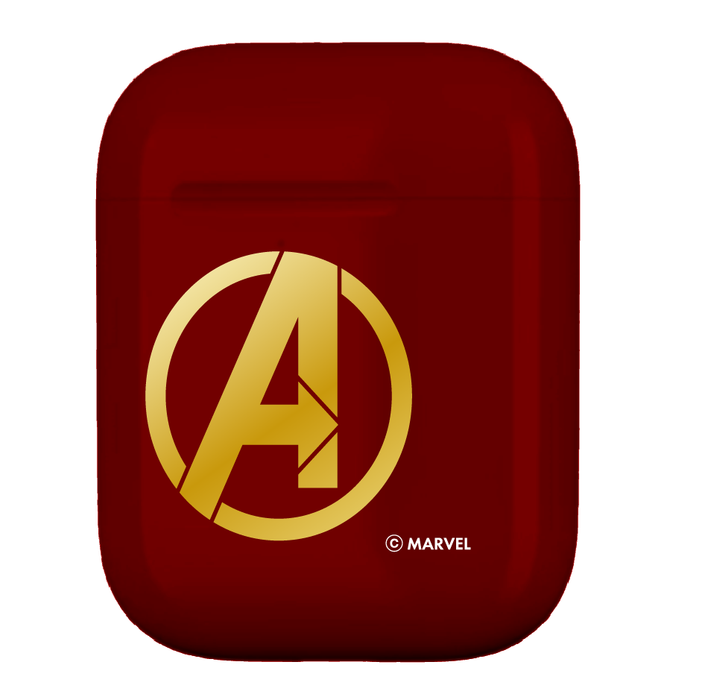 復仇者聯盟AirPods硬式保護套 - 鐵甲奇俠(紅) | MARVEL Avengers AirPods Case Iron Man (Red)