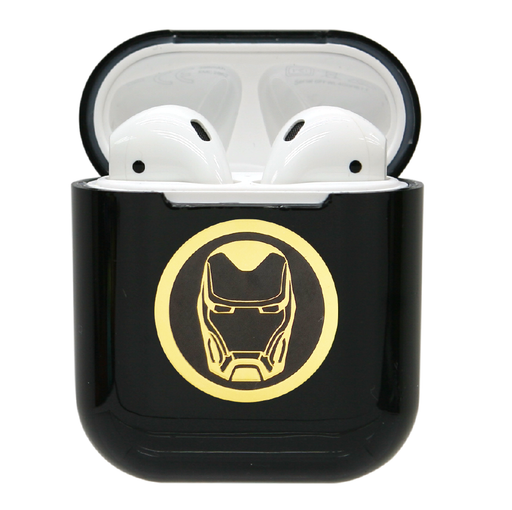 復仇者聯盟AirPods硬式保護套 - 鐵甲奇俠(黑) | MARVEL Avengers AirPods Case Iron Man (Black)