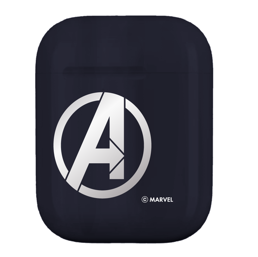 復仇者聯盟AirPods硬式保護套 - 美國隊長(銀) | MARVEL Avengers AirPods Case Captain America (Sliver)