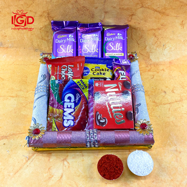 Cadbury Dairy Milk With Assorted Chocolates Hamper