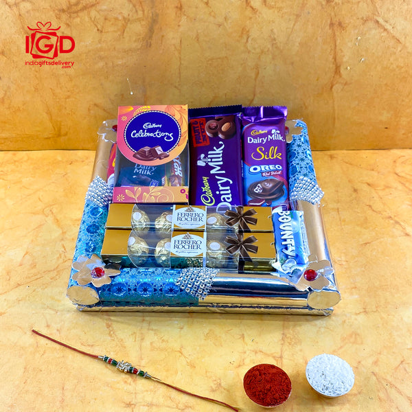 Tasteful Chocolates Hamper