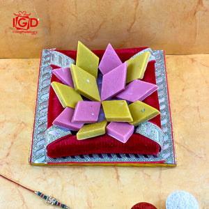 Mango & Strawberry Kaju Barfi Hamper