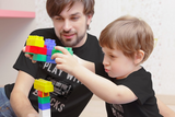 Mechanic Dad and Son Shirts I Still Play with Blocks