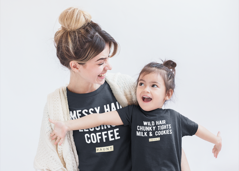 Aunt and Niece Matching Shirts Auntie Girl Life Funny Gift