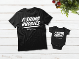 Dad and Son Shirt Fishing Buddy Fisherman Matching Outfit