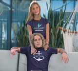 Couple Cruise Shirt His and Her Matching Outfit Captain Mermaid