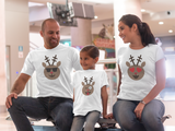 Rudolph Emoji Matching Family Outfit shirts Christmas Gifts