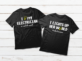 Couples Shirts I Love My Electrician