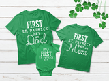Baby First St. Patrick Day Family T Shirts Irish Outfits