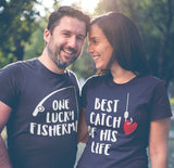 Fishing Couples Shirts Fisherman Love Gift