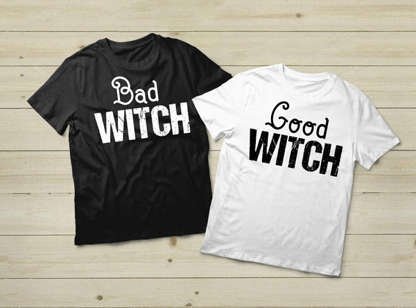 Bad Witch Good Witch Halloween Best Friends