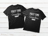 New Grandparents Gift Grandma and Grandpa Matching Shirts