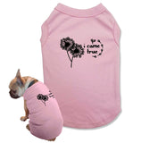 T Shirt for Dog Lover Gift I Made a Wish Matching Pajamas with Dog