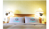 Camp Pillowcase Couple Camping Gifts King Queen of the Camper