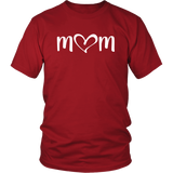 I Love Mom - Valentine's Day Mommy and Me Outfits