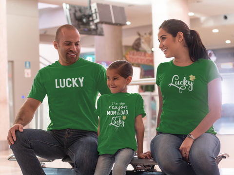 Family T Shirts St. Patrick Day Lucky Matching Irish Outfits