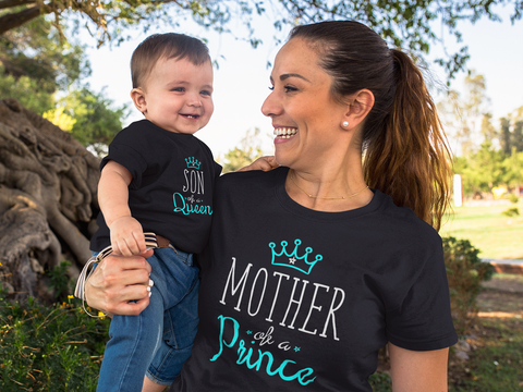 Mother of a Princes Mommy and Me Outfits