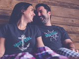 Couple Cruise Shirt Nauty Girl Bad Bouy Funny Pun Couple Shirts