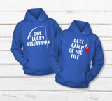 Couples Hoodies His and Hers Fishing Matching Outfits