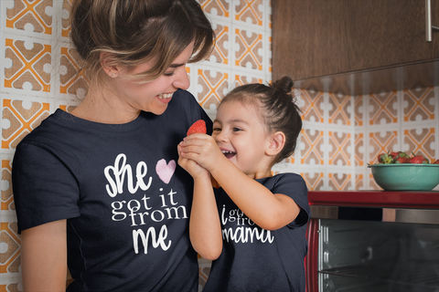 Mommy and Me Outfits Mother Daughter Shirts Got it Mama