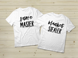 Match Couple Pajamas Matching Couple Set Funny Quote