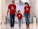 Wolfpack Family T Shirts Wolf Mama Dad Son Daughter Matching Shirts