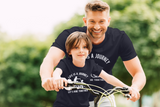 Father Son Shirts Bicycle Let's Ride Together