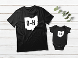 Ohio State Shirts Matching Outfits HO IO Father and Son Apparel