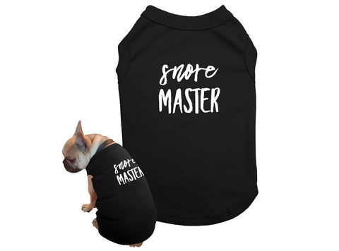 T Shirt for Dog Matching Pajamas with Dog and Owner