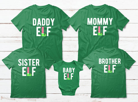 fc6b3268 ... Dan and Baby Son Shirt Elf Christmas Gifts Shirts