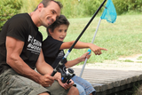 Dad and Son Shirt Fishing Buddy Fisherman Matching Outfit - Youth
