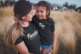 Aunt and Baby Matching Outfits Funtie Definition Nephew Niece Shirts