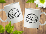 Hedgehog Mugs Couple Matching Cute Lover Gift