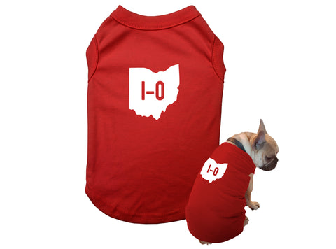 Ohio State Shirt for a Dog Lover Gift Dog Pajama - Red