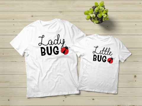 Mommy and Me Outfits Ladybug Mom Shirt