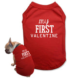 T Shirt For a Dog Valentines Day Matching Pajamas with Dog Mom Shirts