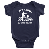 Father Son Shirts Bicycle Let's Ride Together -Son