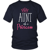 Aunt of a Princess Aunt and Niece Shirts
