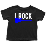 Father Son Shirts Gifts for Dad I Rock I Roll  - Toddler