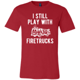 Father and Son Shirts I still Play with Firetrucks - Dad and Baby (new)