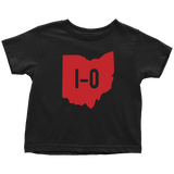 Ohio State Shirts Matching Outfits HO IO Toddler Black