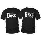 T Shirts for Couples The Boss Matching Outfits for Couples
