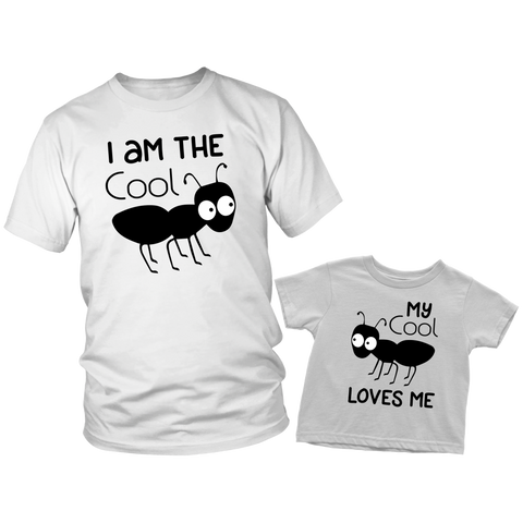 Aunt and Nephew Shirts Gifts to Aunt Cool Ant