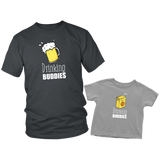 Father Son Shirts Drinking Buddies Matching Shirts - Toddler