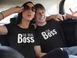 The Boss Couple Shirts Funny Quote Matching His and Her Sayings
