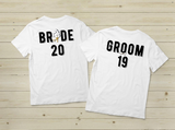 Couples Shirts Bride Groom 2019 Wedding Gift