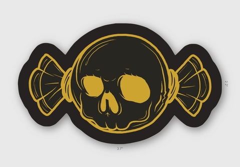 "Deadly Candies 3"" Vinyl Sticker 2 Pack"