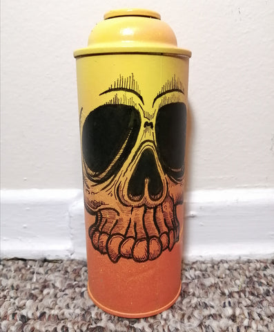 """Skulled Out"" Custom Spray Can"