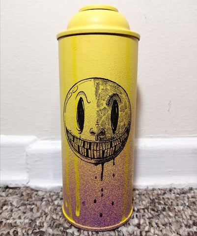 """Mr Smiley"" Custom Spray Can"